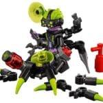 LEGO Monkie Kid 80022 Hauptquartier Der Spider Queen 12