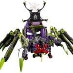 LEGO Monkie Kid 80022 Hauptquartier Der Spider Queen 6