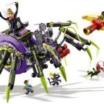 LEGO Monkie Kid 80022 Hauptquartier Der Spider Queen 8