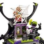 LEGO Monkie Kid 80022 Hauptquartier Der Spider Queen 9