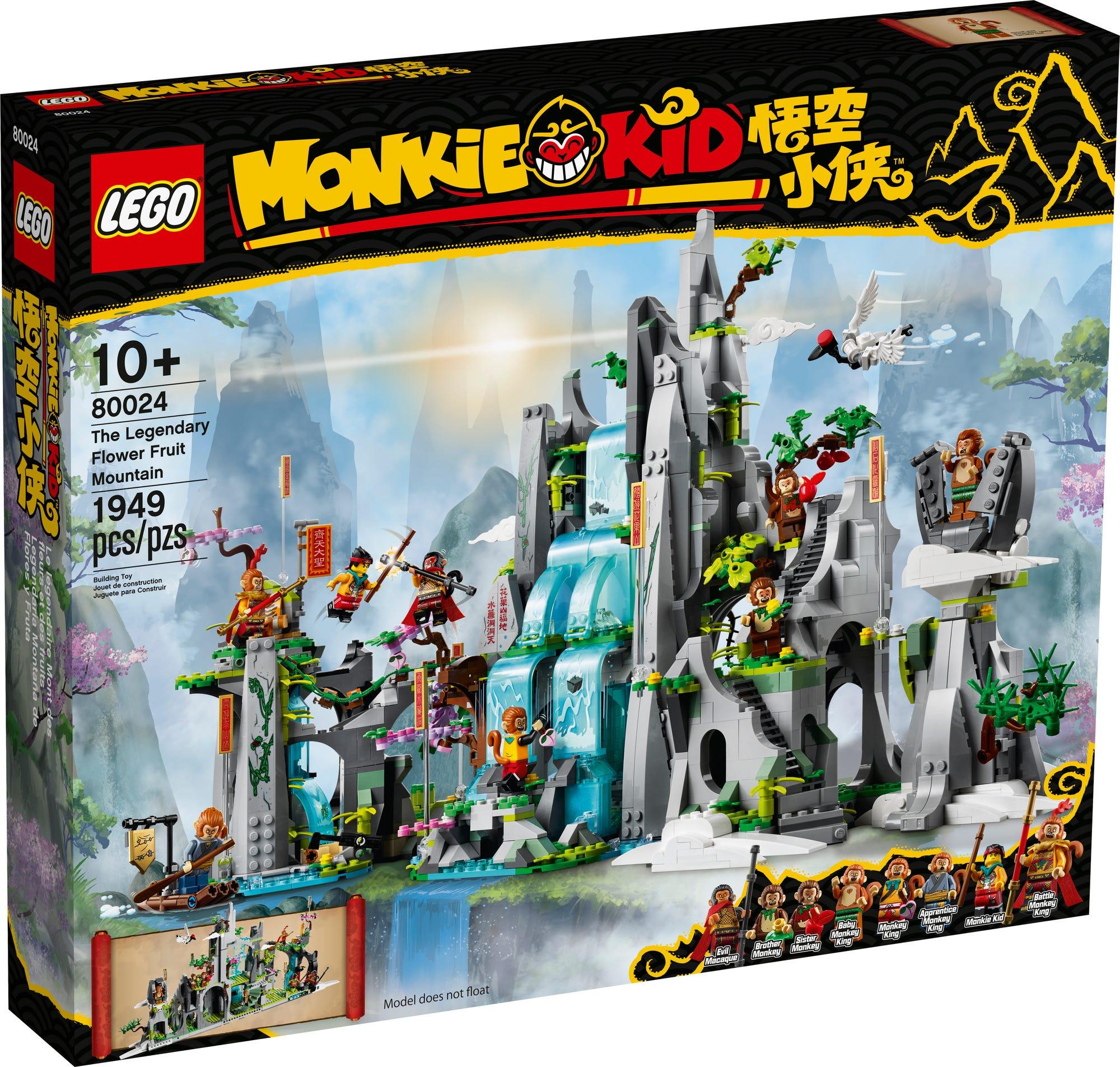 LEGO Monkie Kid 80024 Der Legendäre Berg Der Blumen Und Früchte 3