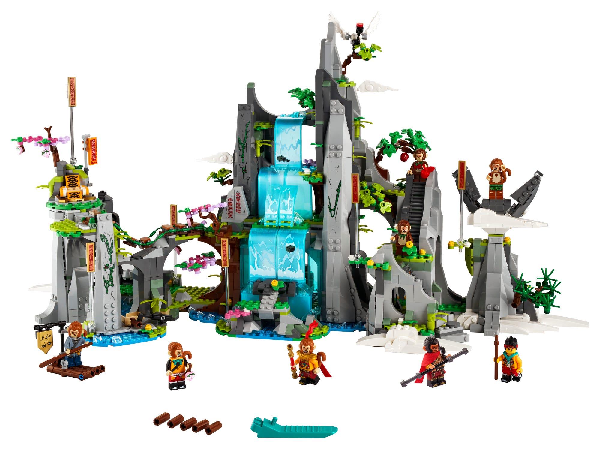 LEGO Monkie Kid 80024 Der Legendäre Berg Der Blumen Und Früchte 4