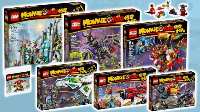 LEGO Monkie Kid Maerz 2021