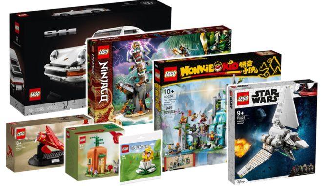 LEGO Neuheiten März Titel
