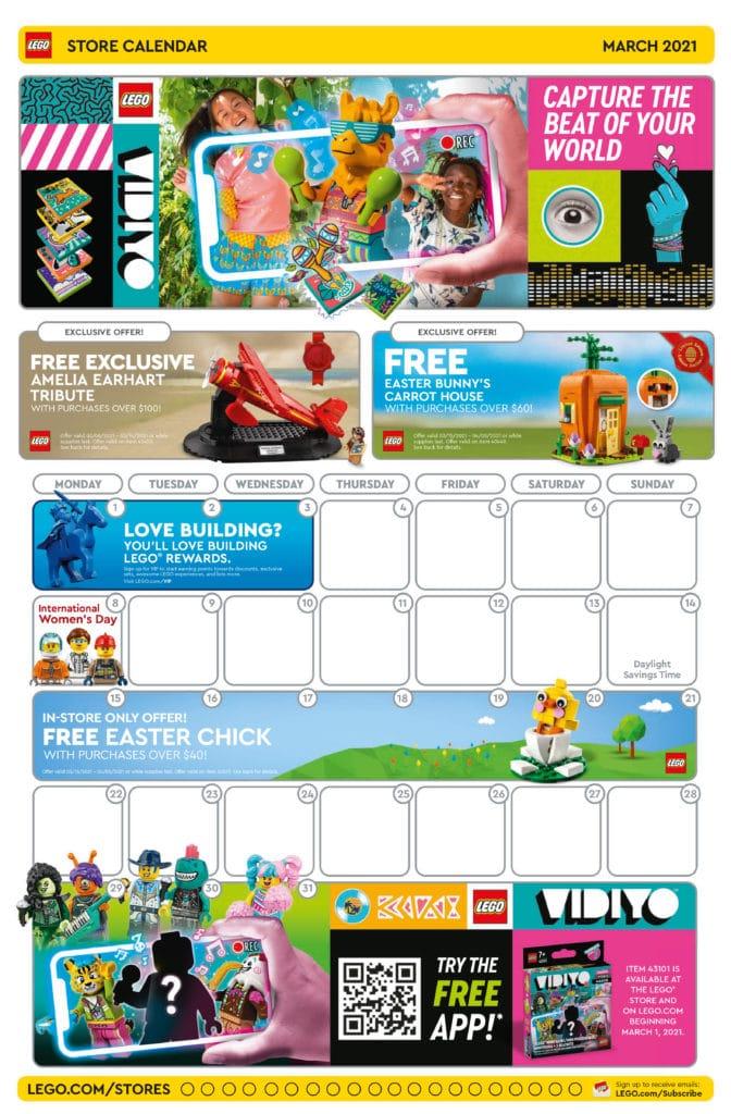 LEGO Store Flyer März 2021 Seite 1