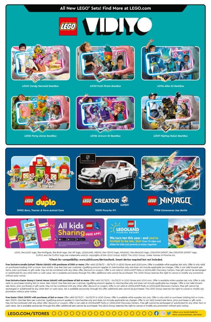 LEGO Store Flyer März 2021 Seite 2