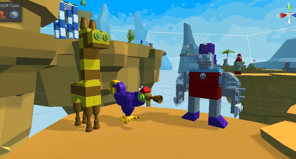LEGO Unity Assets