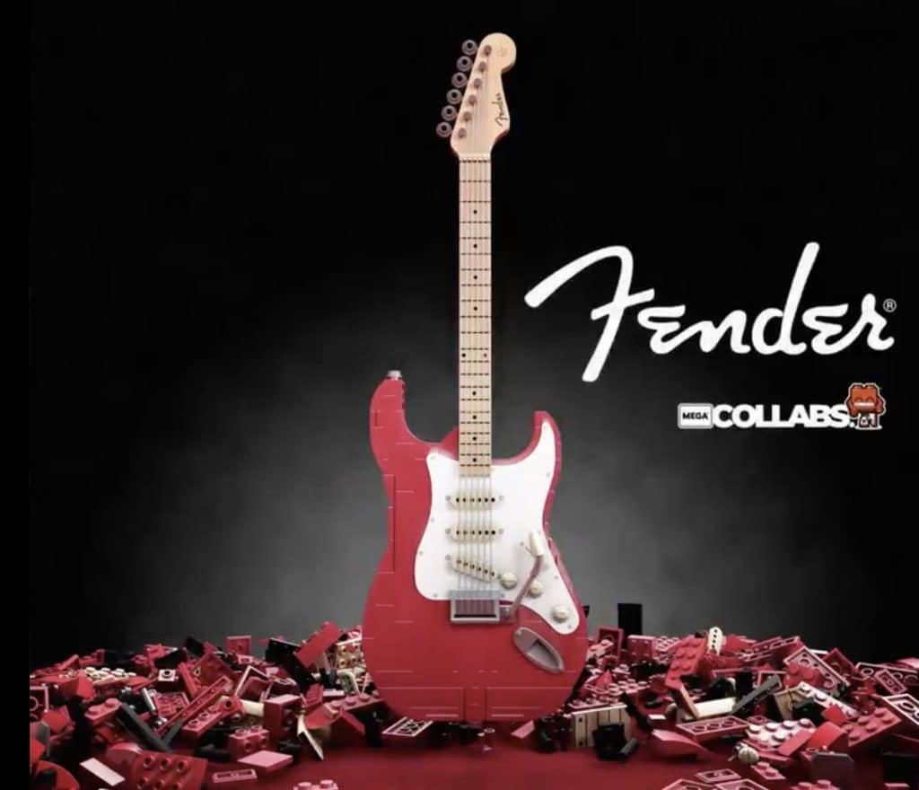 Mega Construx Fender Stratocaster
