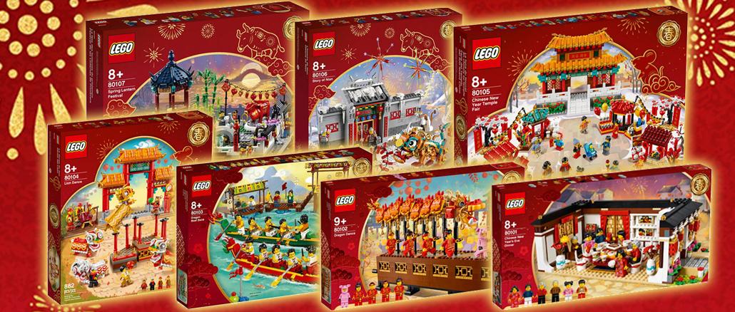 Stonewars Uebersicht Alle LEGO Chinese New Year Sets