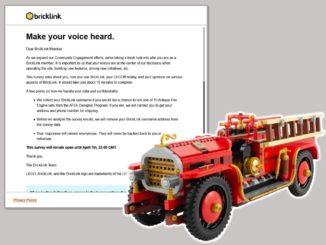 Bricklink Nutzerverhalten Umfrage Titel