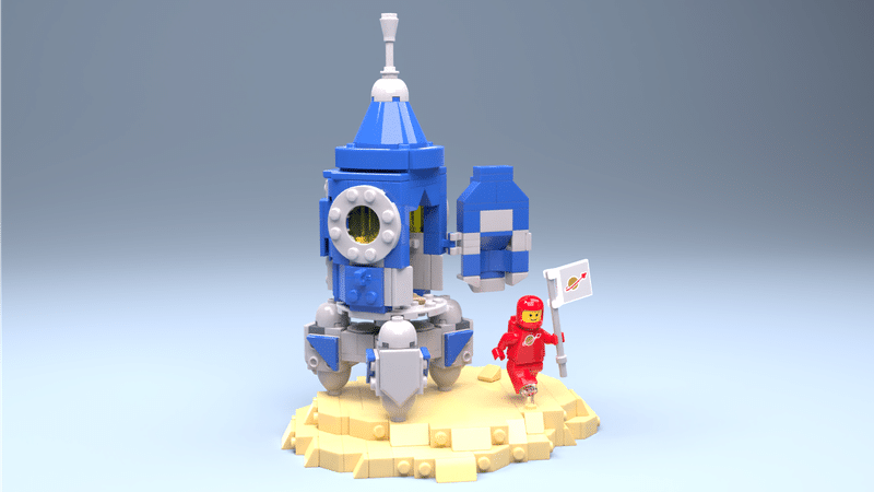 Discovery Of A New Planet By LEGObee