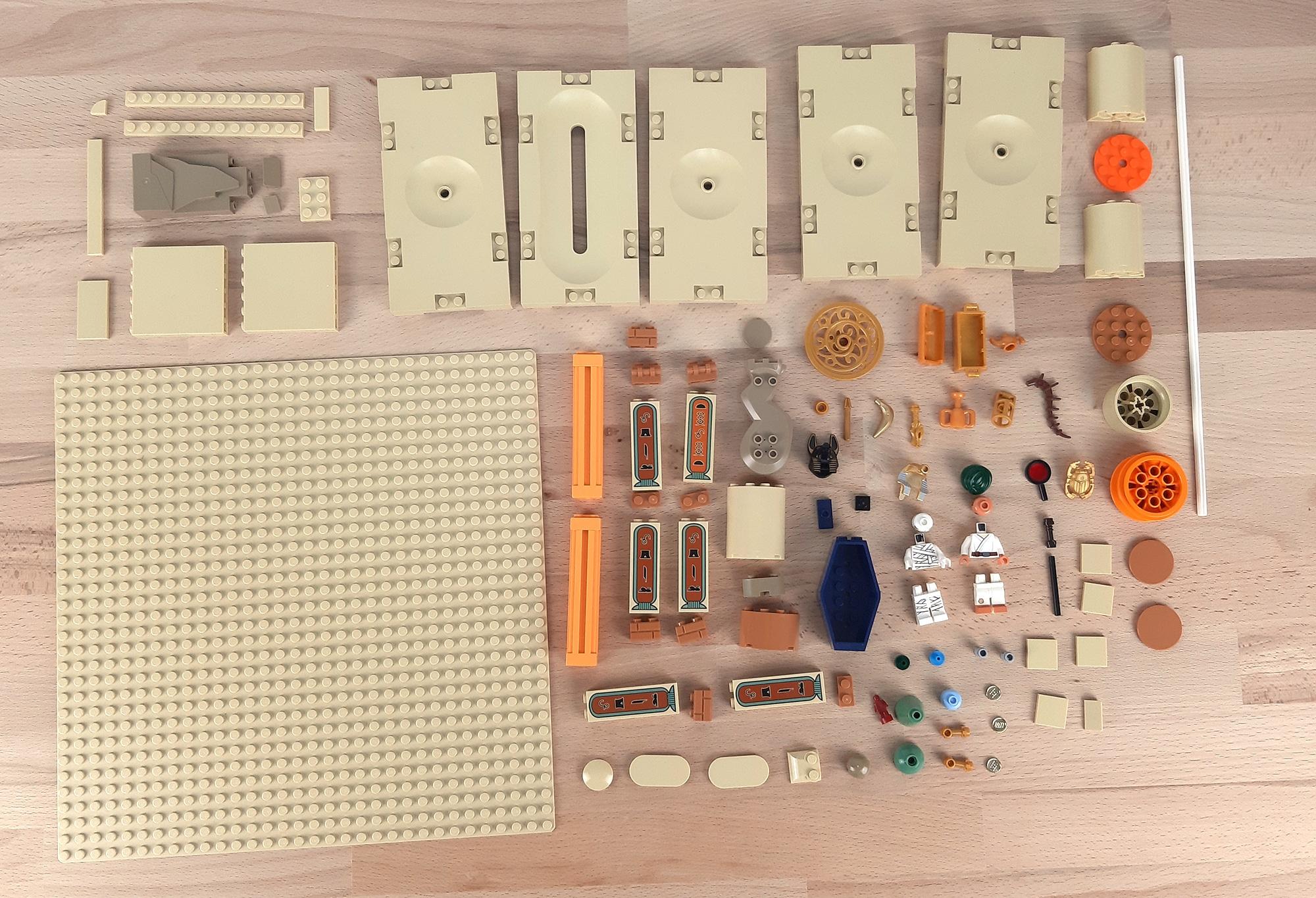 Jonas Kramm LEGO Grabkammer Adventurers Aegypten 101 Teile