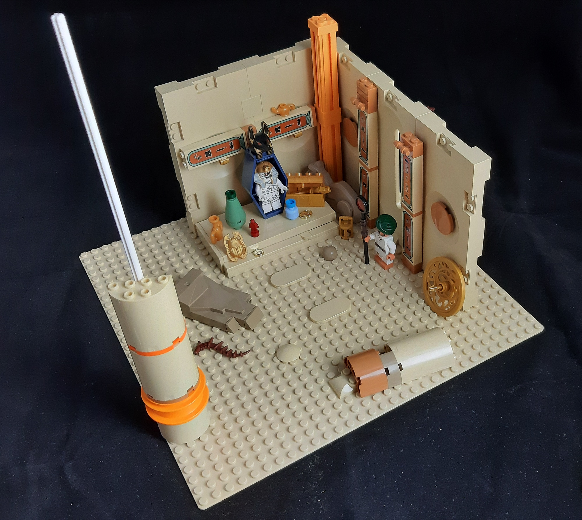 Jonas Kramm LEGO Grabkammer Adventurers Aegypten Behind The Scenes01