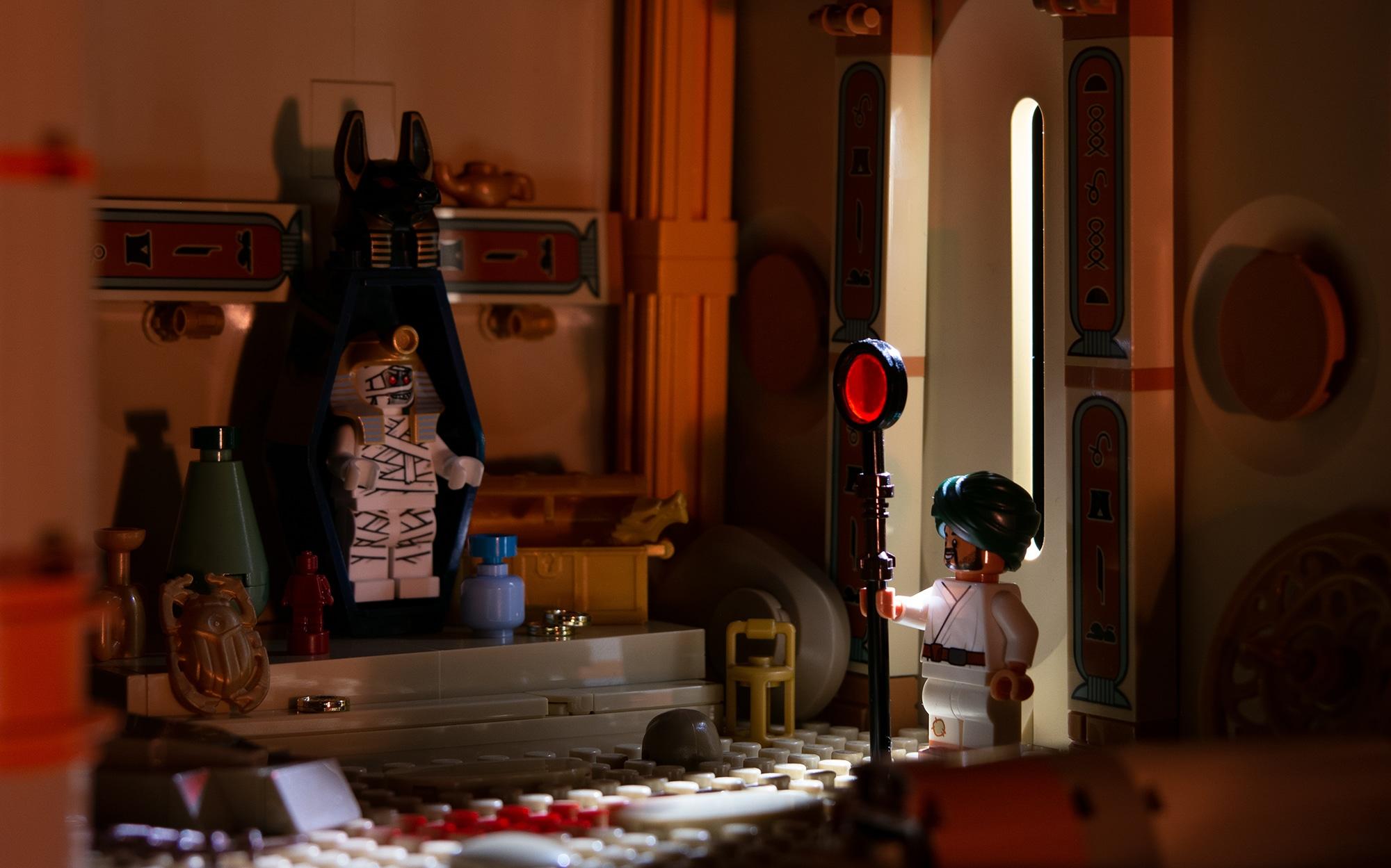 Jonas Kramm LEGO Grabkammer Adventurers Aegypten Klein Vorher
