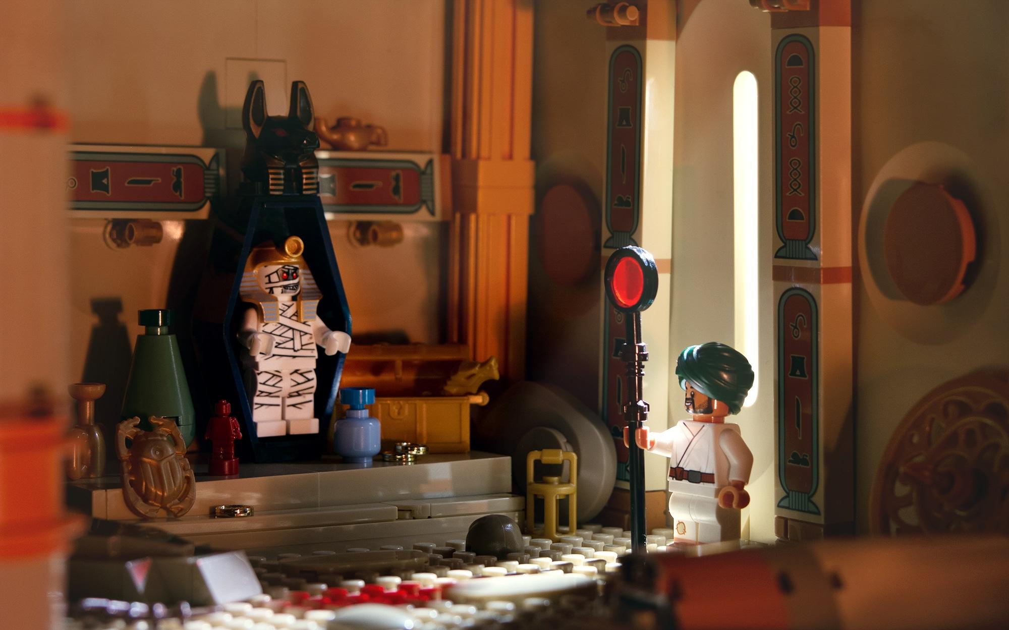 Jonas Kramm LEGO Grabkammer Adventurers Aegypten Klein