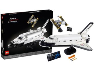 LEGO 10283 Nasa Space Shuttle Discovery Titel