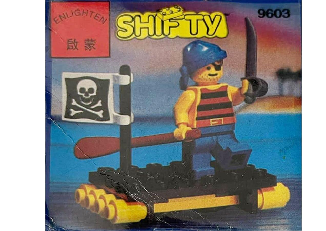 LEGO 1713 Vs Enlighten 9603 2