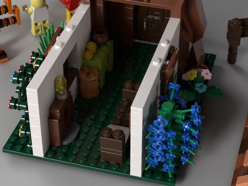 LEGO 21326 Winnie Pooh Fantentwurf 4