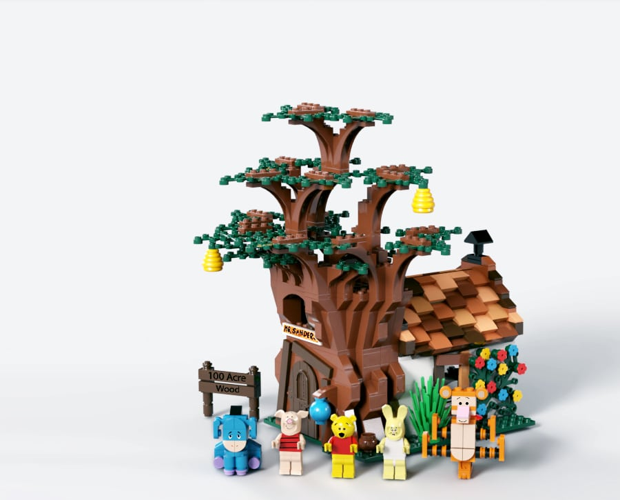 LEGO 21326 Winnie Pooh Slider 1