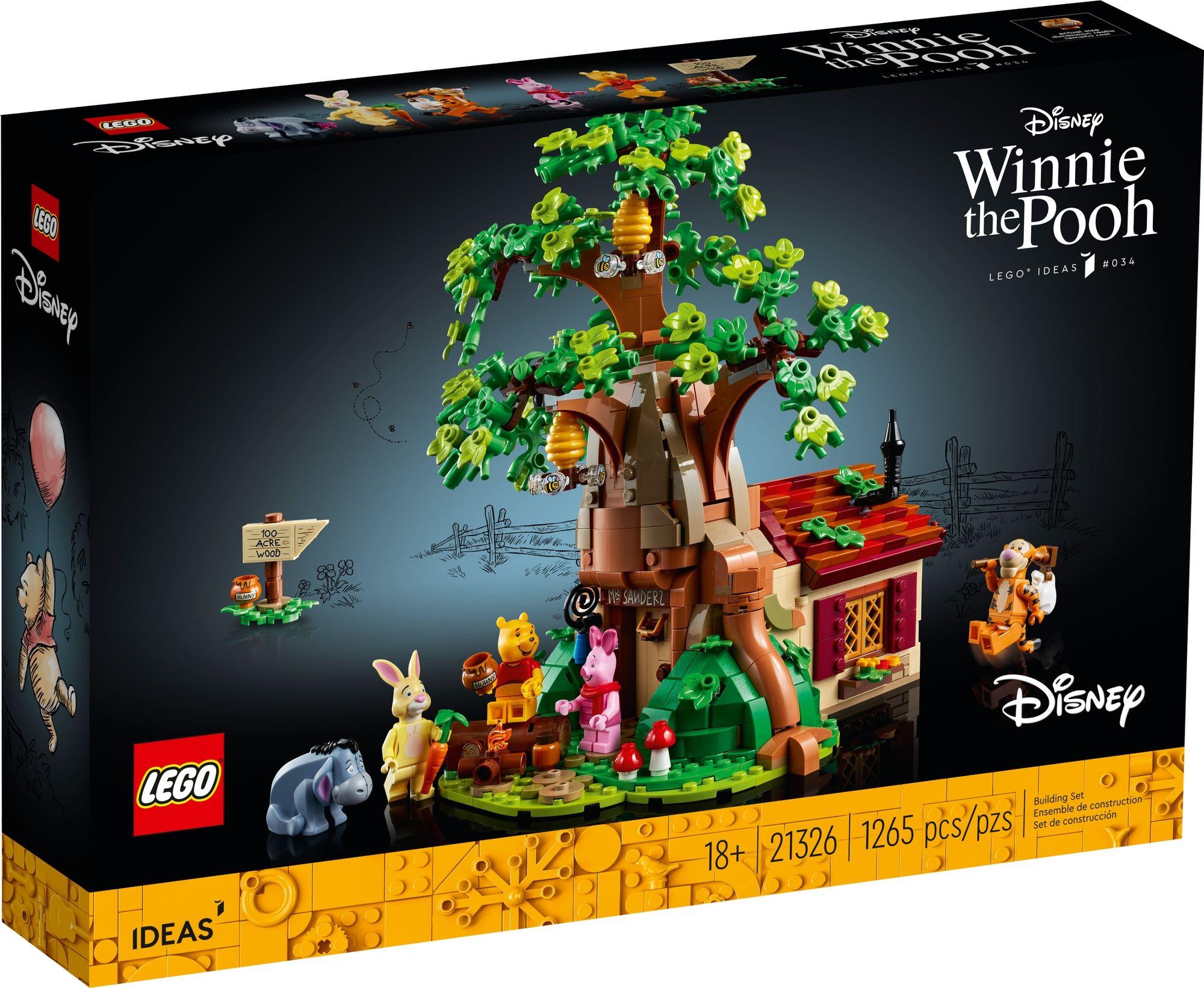 LEGO 21326 Winnie The Pooh 2