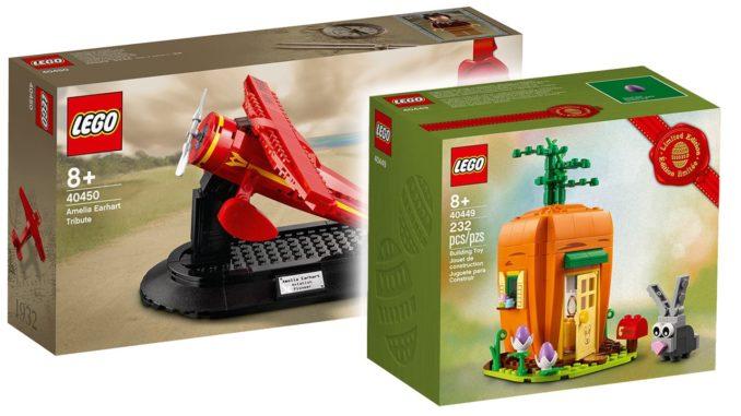 LEGO 40449 40450 2x Gwp