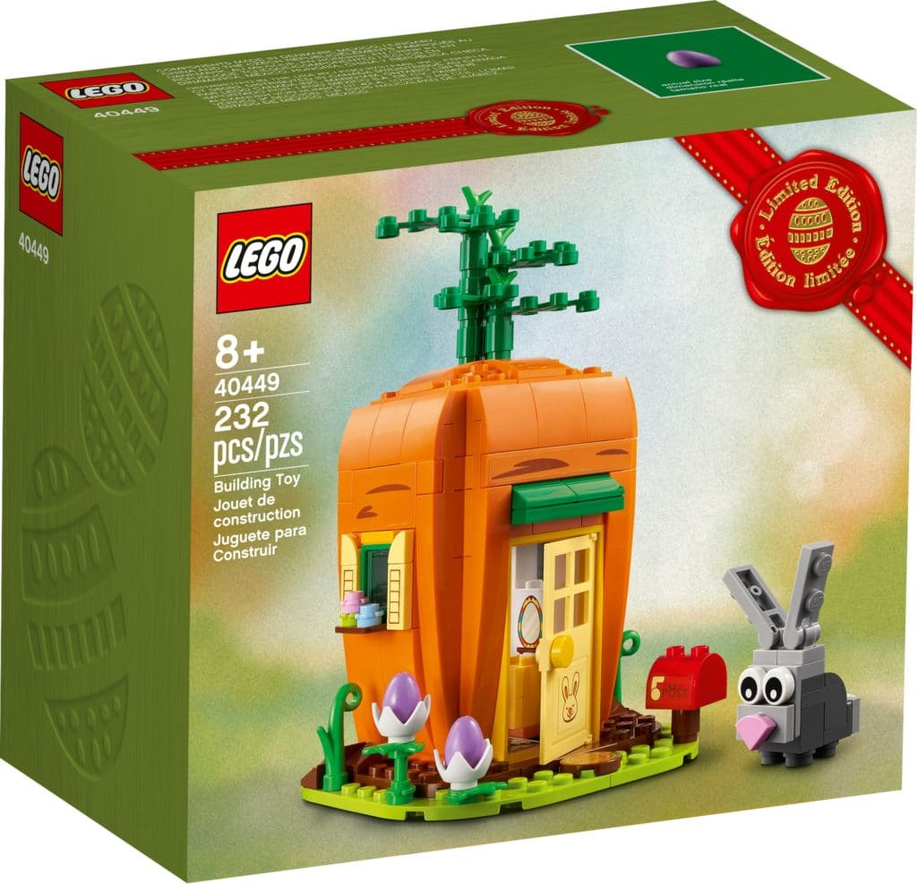LEGO 40449 Karottenhaus Des Osterhasen 3