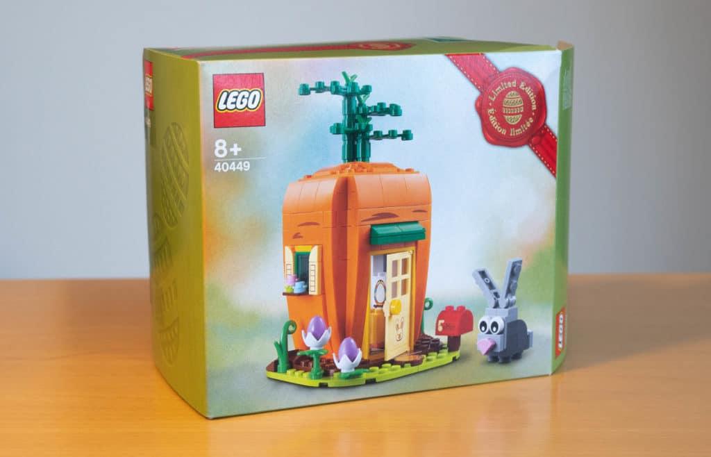LEGO 40449 Karottenhaus Osterhase Review 1