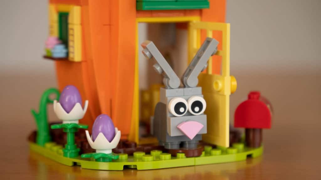 LEGO 40449 Karottenhaus Osterhase Review 15