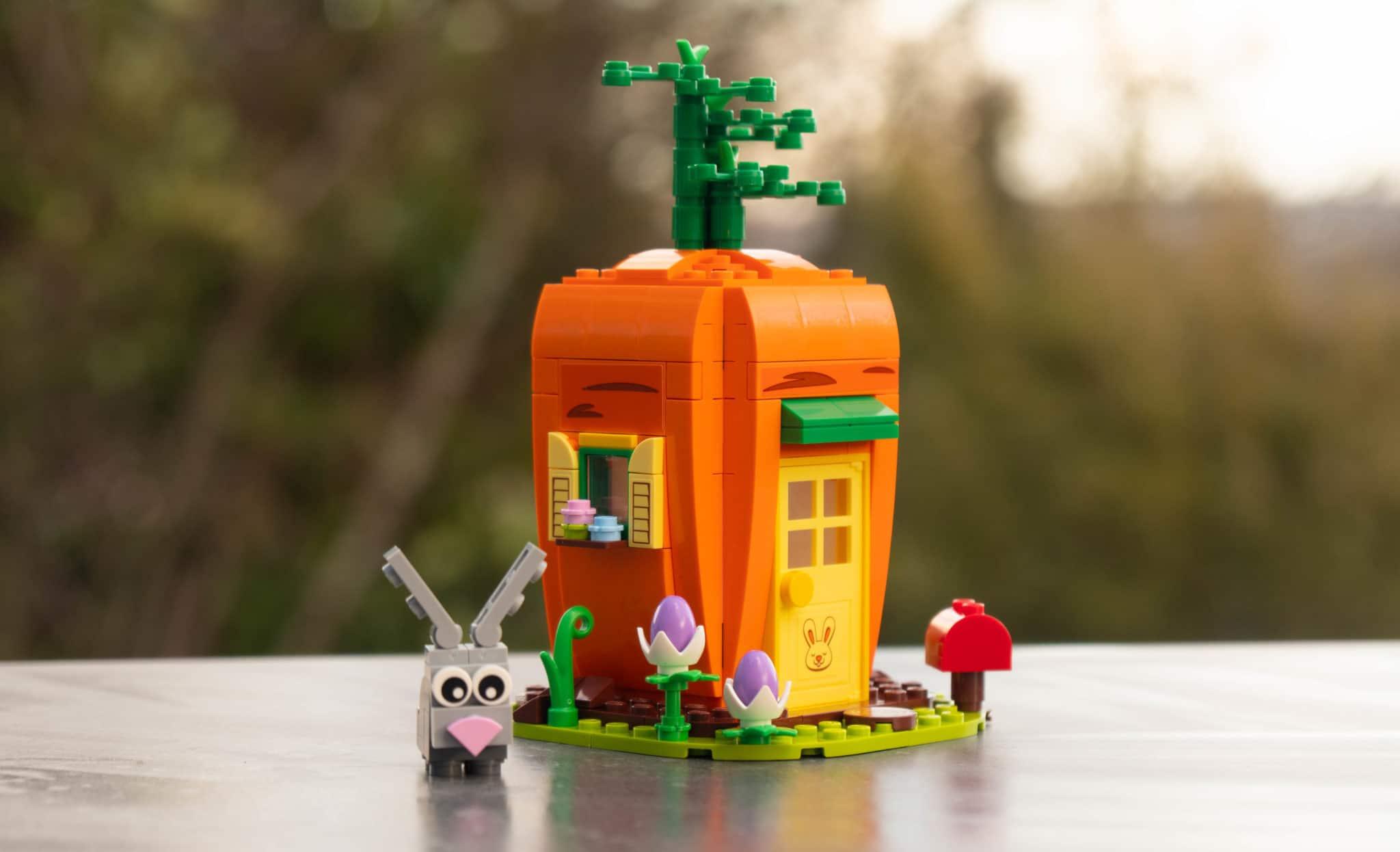 LEGO 40449 Karottenhaus Osterhase Review 19
