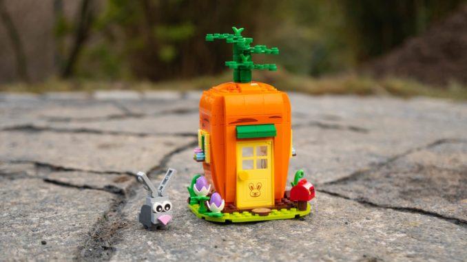 LEGO 40449 Karottenhaus Osterhase Review 20