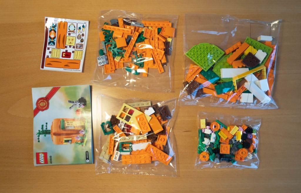 LEGO 40449 Karottenhaus Osterhase Review 4