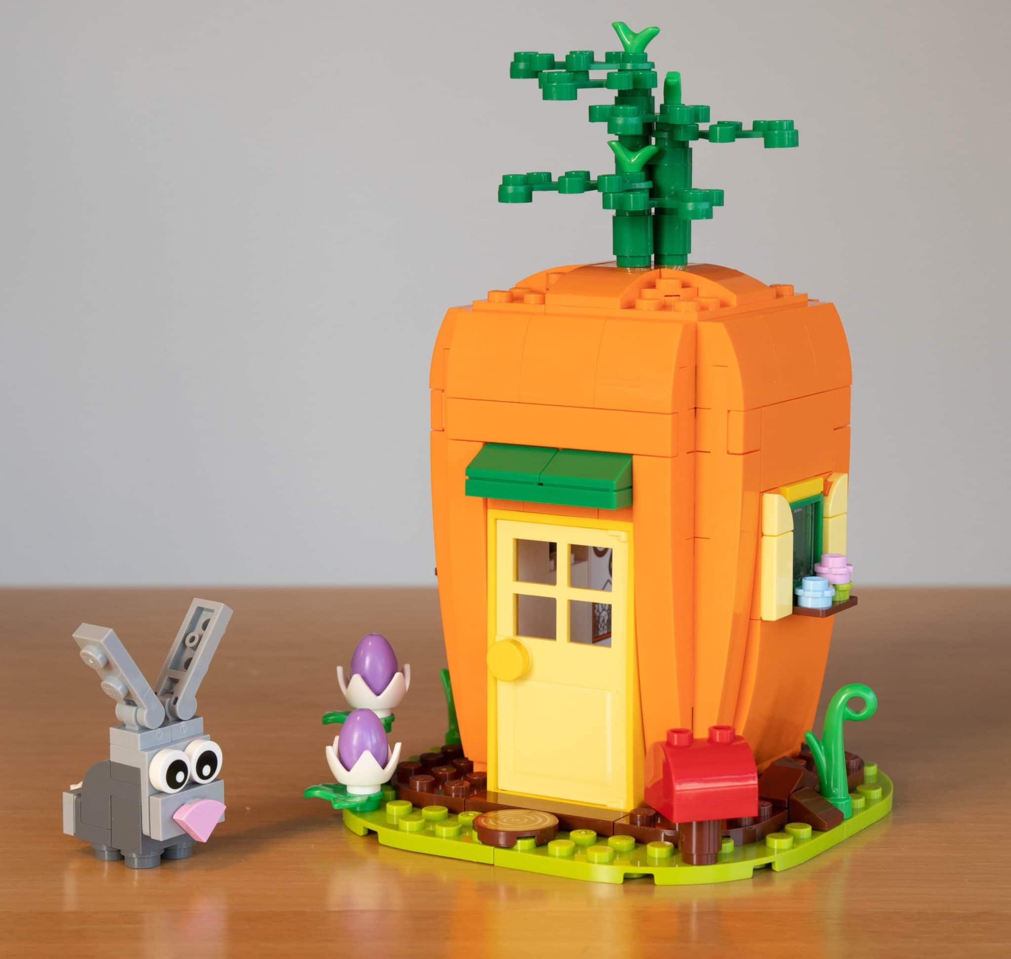 LEGO 40449 Karottenhaus Osterhase Sticker 1