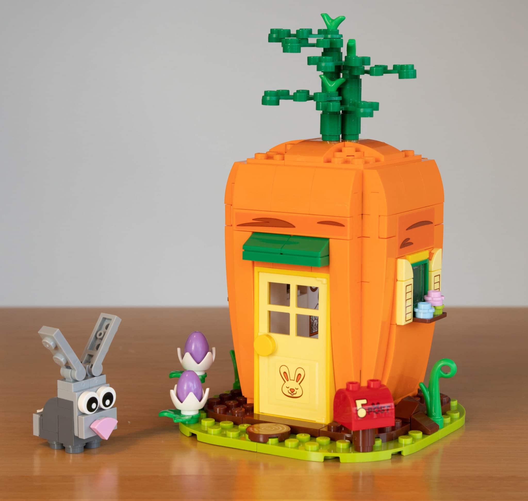 LEGO 40449 Karottenhaus Osterhase Sticker 2