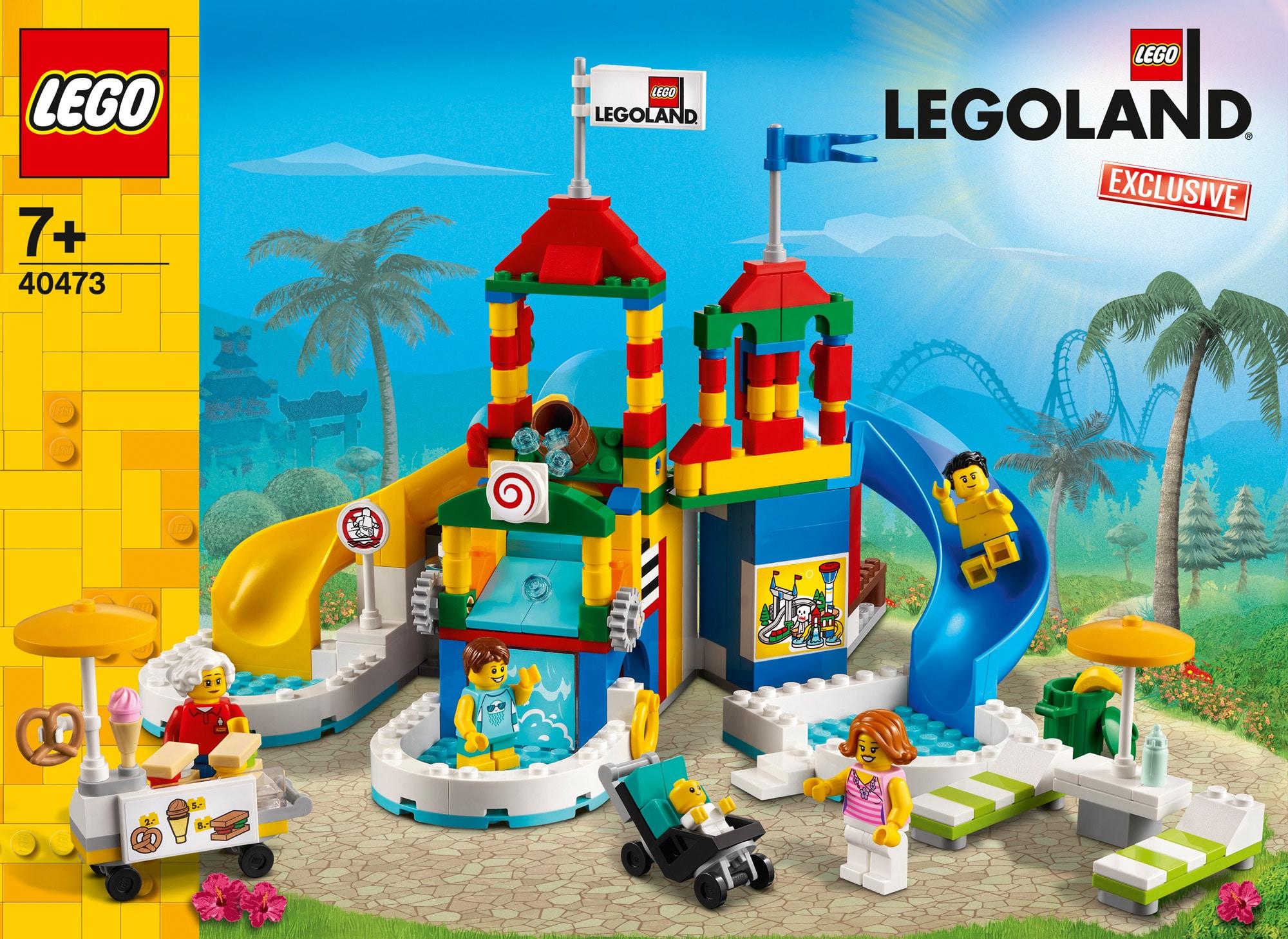 LEGOLAND Exklusive Set 2021: Bilder vom LEGO 40473 Wasserpark