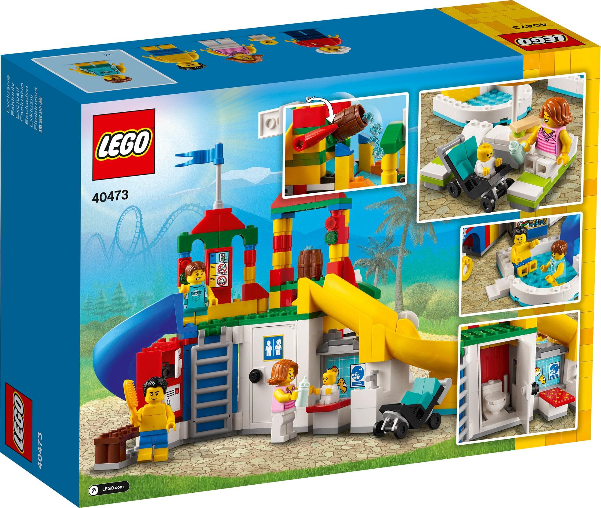 LEGO 40473 LEGOland Wasserpark 3