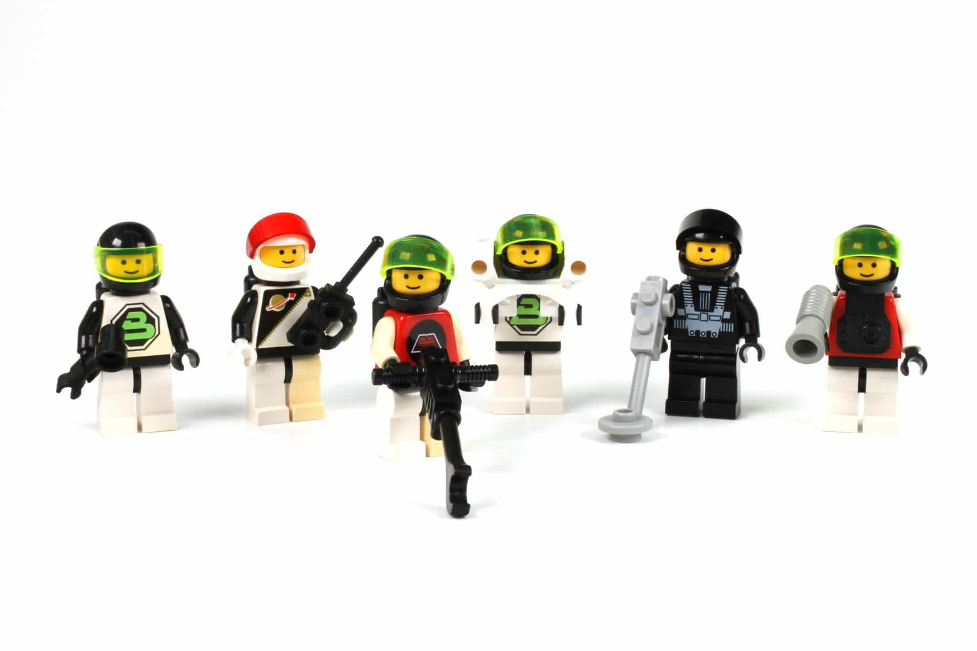 LEGO 6704 Space Minifig Pack 3