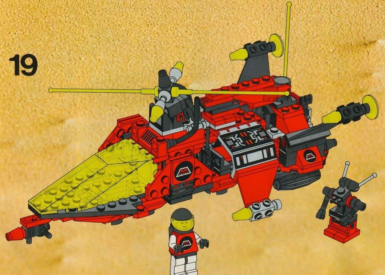 LEGO 6923 Slider Vergleich Anleitung 1