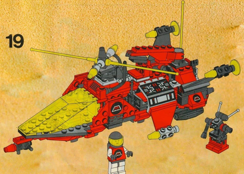 LEGO 6923 Slider Vergleich Anleitung 2