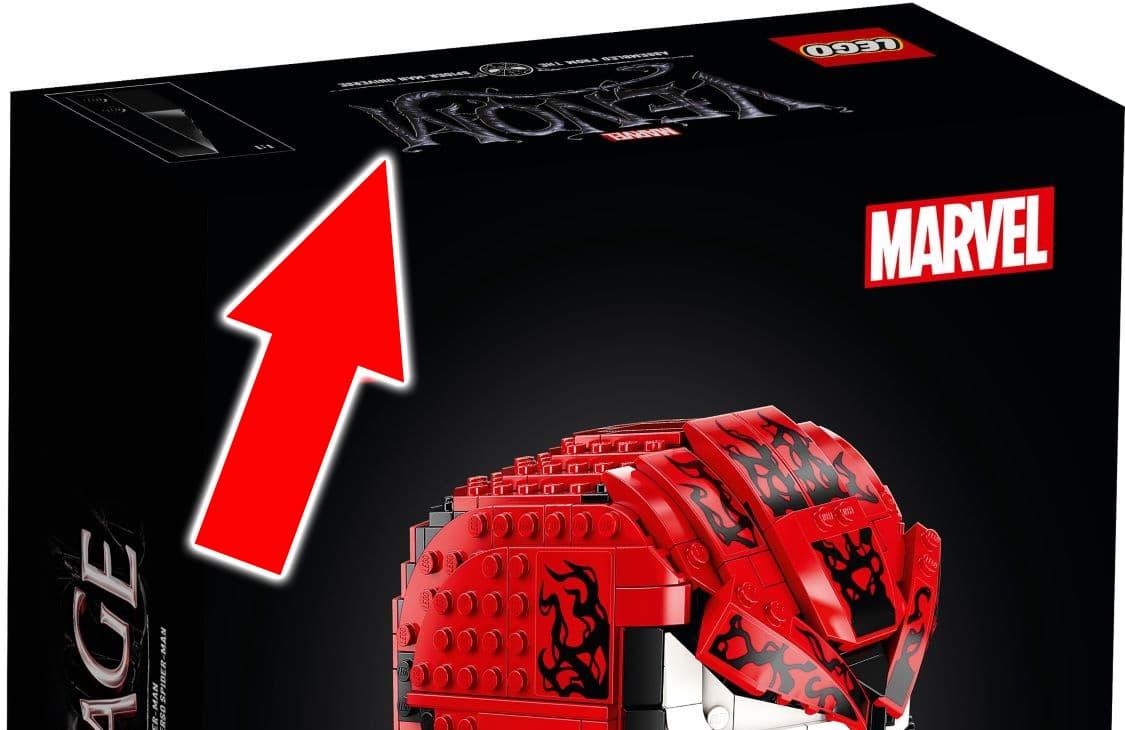 LEGO 76187 Venom Oberseite Bildfehler Carnage 3