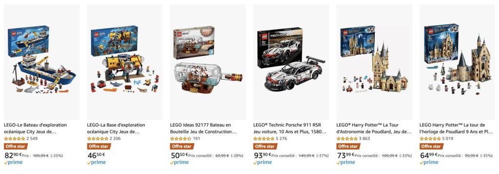 LEGO Angebote Amazon Fr