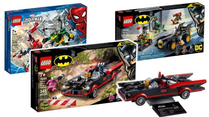 LEGO Batman 76188 Classic Batmobile Titelbild