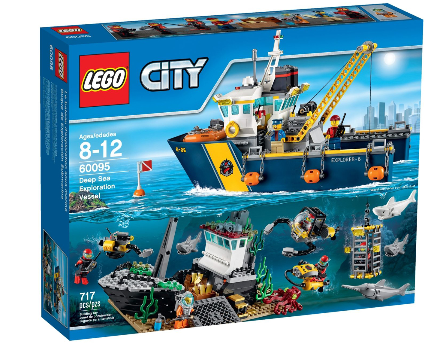 LEGO City 60095 Tiefsee Expeditionsschiff 2015
