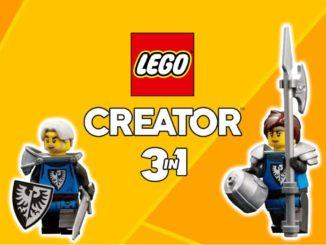 LEGO Creator 3 In 1 31120 Ritterburg