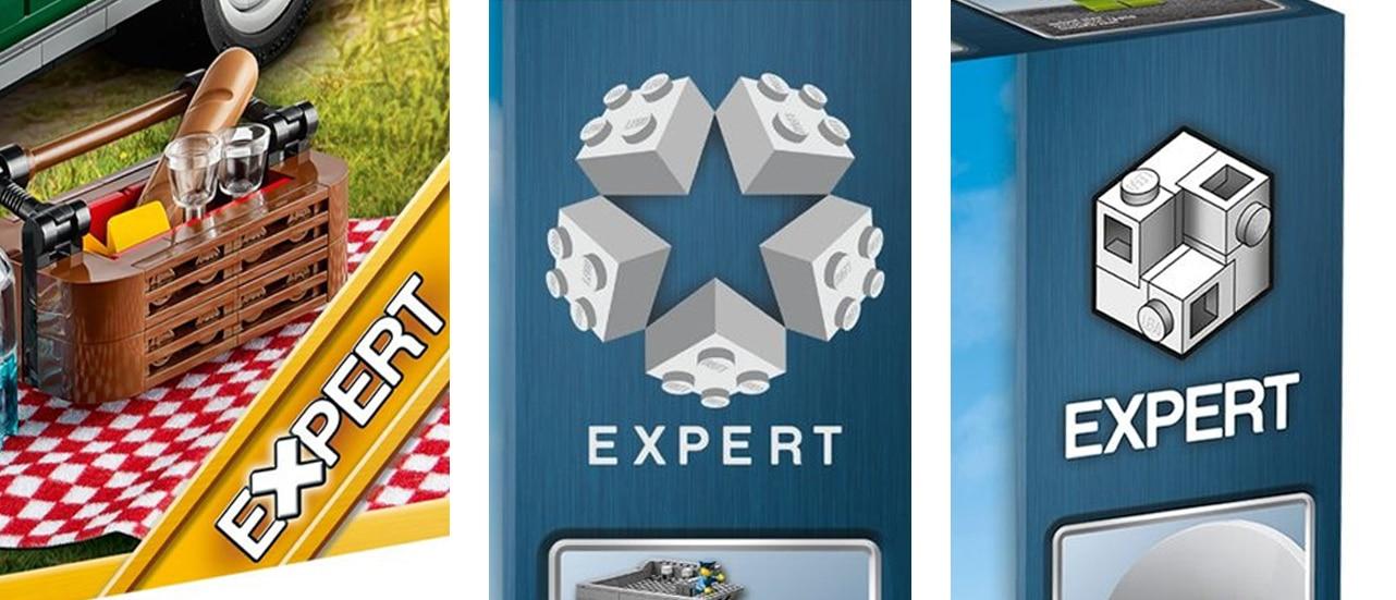 LEGO Creator Expert Logo Vergleich
