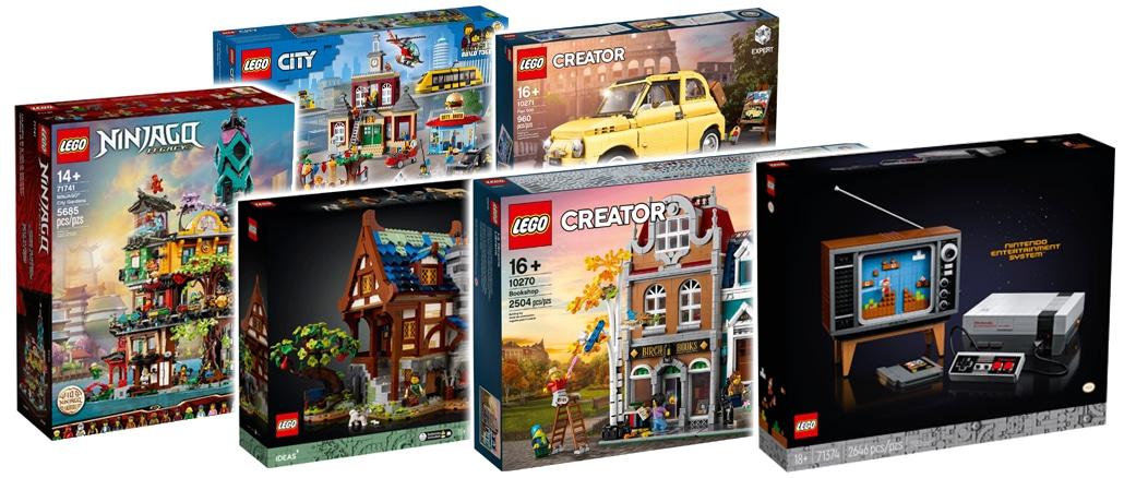 LEGO D2c Sets Seitentitel