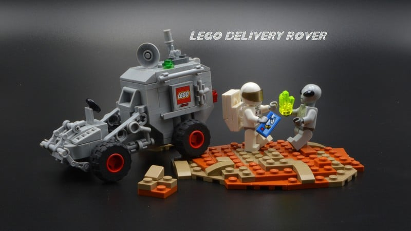 LEGO Delivery Rover By Commander Brick