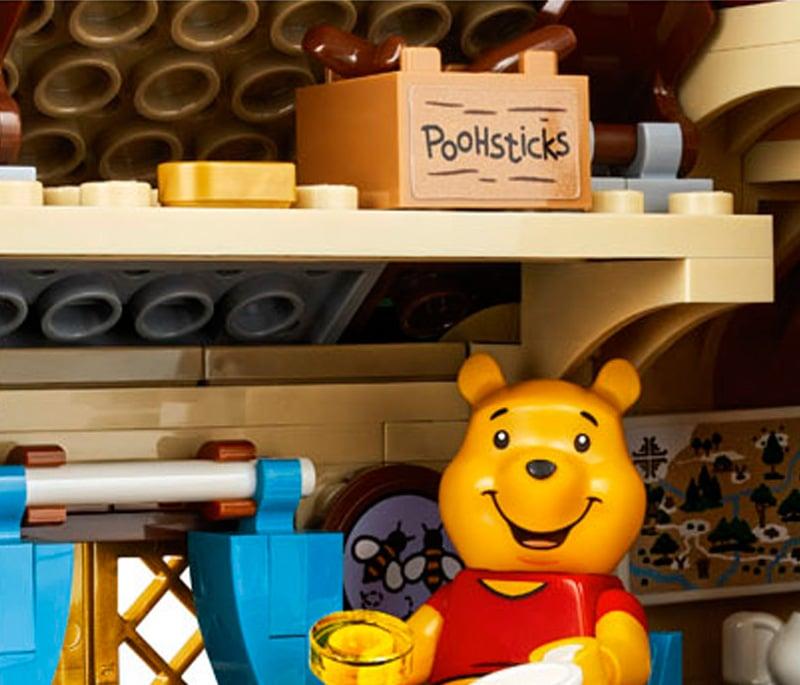 LEGO Ideas 21326 Winnie Pooh Detail 5