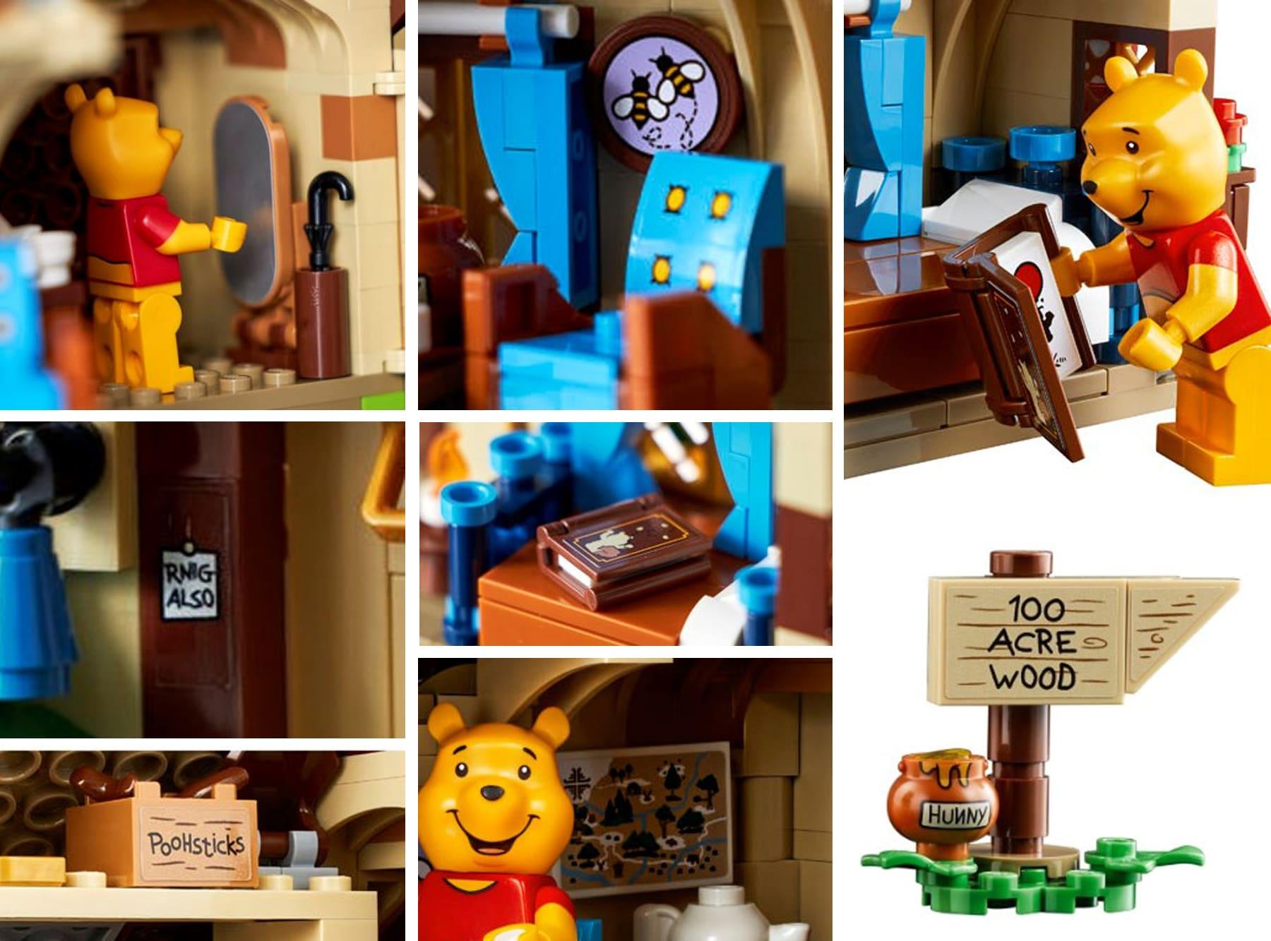 LEGO Ideas 21326 Winnie Pooh Sticker