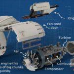 LEGO Ideas Aircraft Engine Workshop (10)