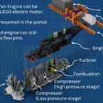 LEGO Ideas Aircraft Engine Workshop (11)